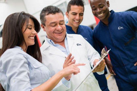 Fix Auto es una red de éxito para cientos de propietarios de talleres.